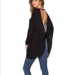 Free People We the Free twist back knit top